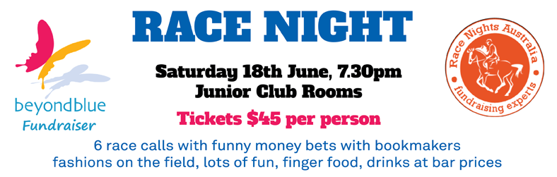 Race night 2016