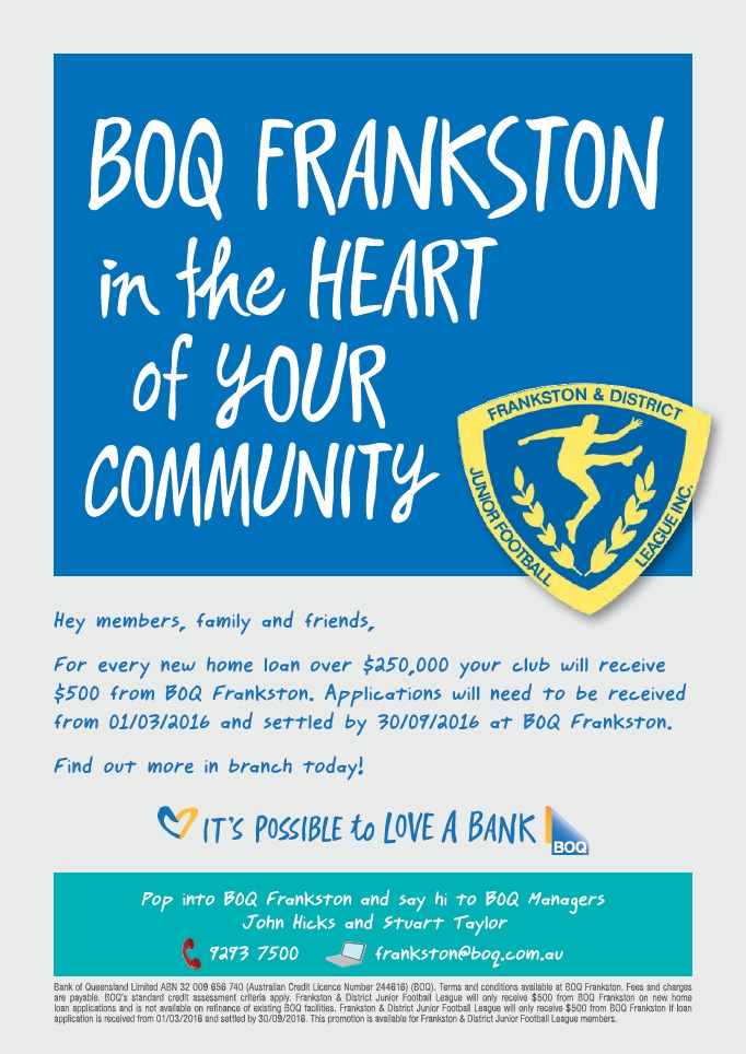 BOQ Frankston Offer